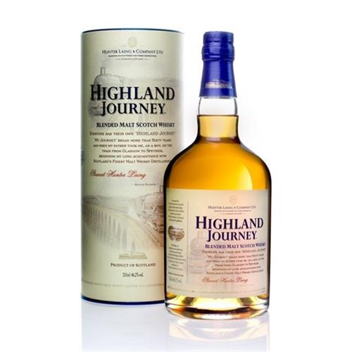 Highland Journey Blended Malt Whisky 46.2% 70cl Image 1