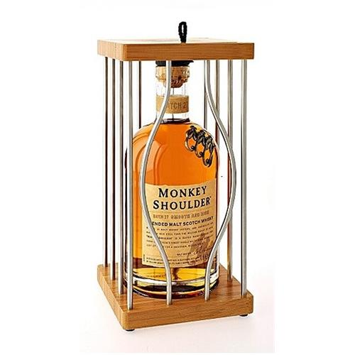 Monkey Shoulder Cage Pack 40% 70cl Image 1