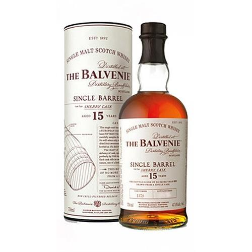 Balvenie 15 years old Sherry Cask Single Barrel 47.8% 70cl Image 1