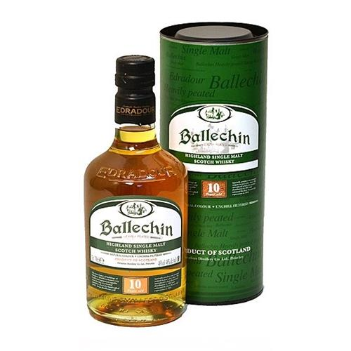 Ballechin 10 years old Heavily Peated 46% 70cl Image 1