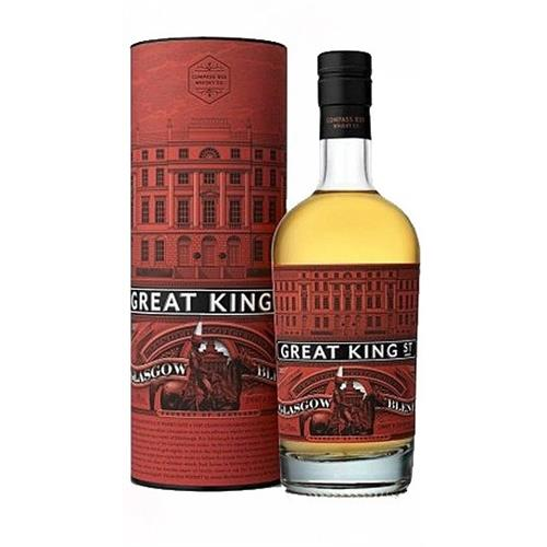 Great King Street Glasgow Blend Compass Box 43% 50cl Image 1