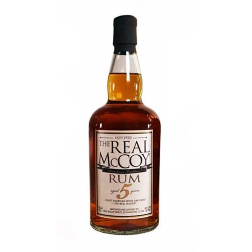 The Real McCoy 5 year old Rum 40% 70cl Image 1
