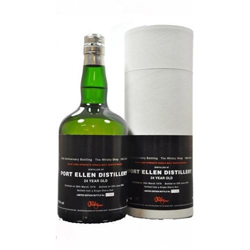 Port Ellen 24 years old 1978 The Whisky Shop 57.9% 70cl Image 1