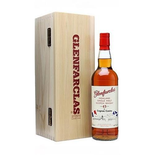 Glenfarclas 43 years old Cognac 40.7% 70cl Image 1