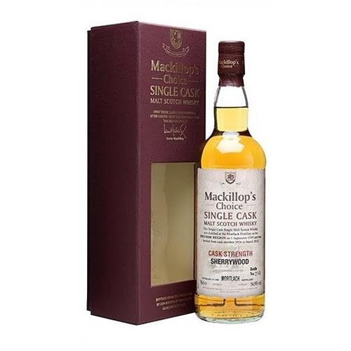 Mortlach 1991 Sherry Wood Mackillops Choice 56.6% 70cl Image 1