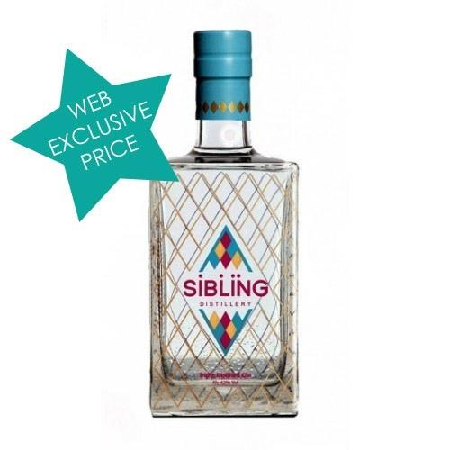 Sibling Triple Distilled Gin 42% 70cl Image 1
