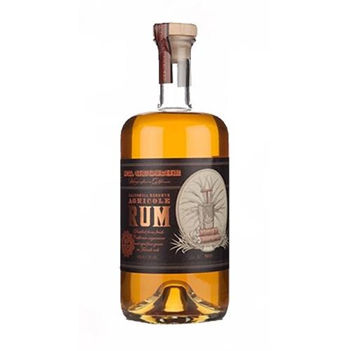 St George Reserve Agricole Rum California 40% 75cl Image 1