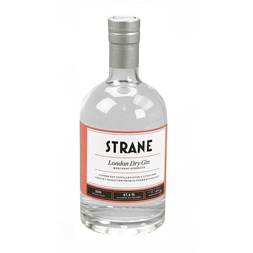 Strane London Dry Gin Merchants Strength 47.4% 50cl Image 1