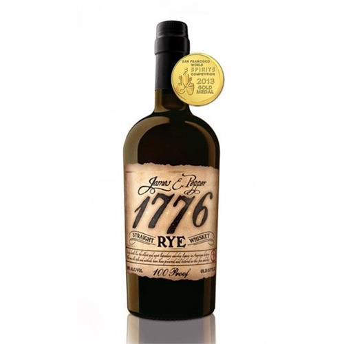 James E Pepper 1776 Straight Rye Whiskey 50% 70cl Image 1