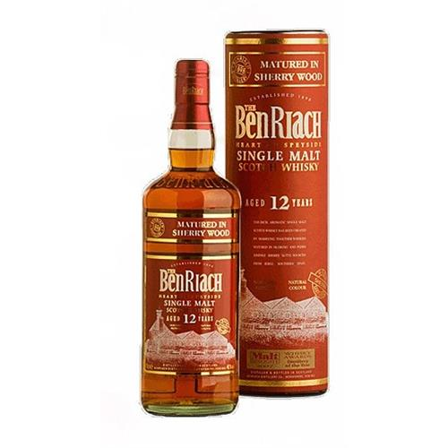 Benriach 12 years old Sherry Cask 46% 70cl Image 1