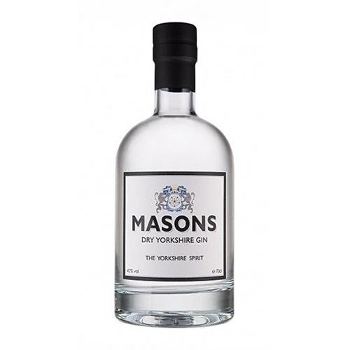 Masons Dry Yorkshire Gin 42% 70cl Image 1