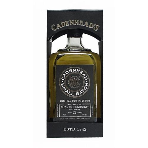 Glenallachie Glenlivet 22 Year Old Small Batch Cadenhead 70cl Image 1