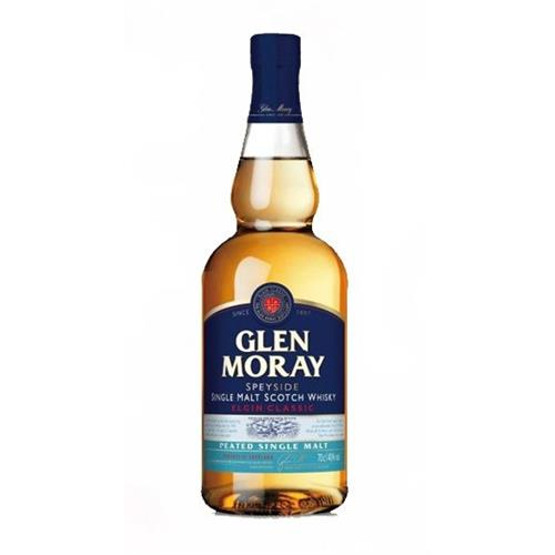 Glen Moray Peated Single Malt 40% 70cl Image 1