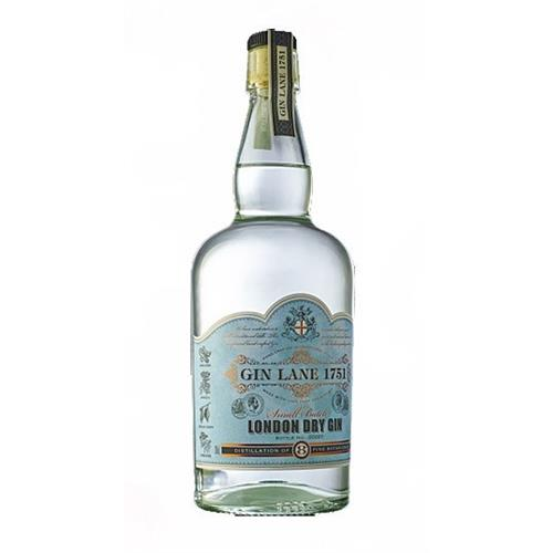 Gin Lane 1751 London Dry Gin Small Batch 40% 70cl Image 1
