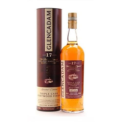 Glencadam 17 years old Triple Cask Portwood Finish 46% 70cl Image 1