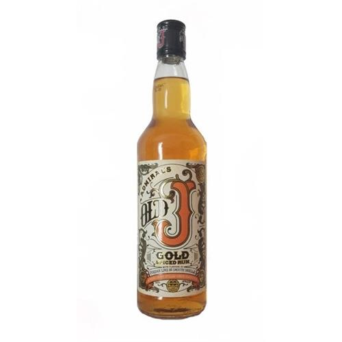Admiral Vernon's Old J Gold Spiced Rum 70cl Image 1