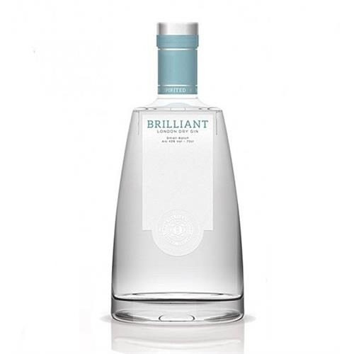 Brilliant London Dry Gin Small Batch 43% 70cl Image 1