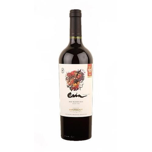 Domaine Bousquet Gaia Red Blend 2013 Organic Wine 75cl Image 1