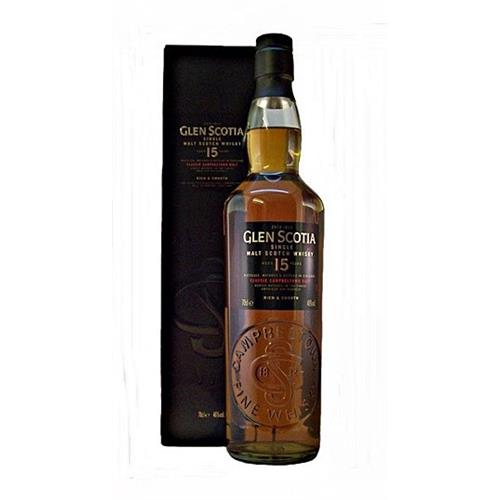 Glen Scotia 15 years old 46% 70cl Image 1