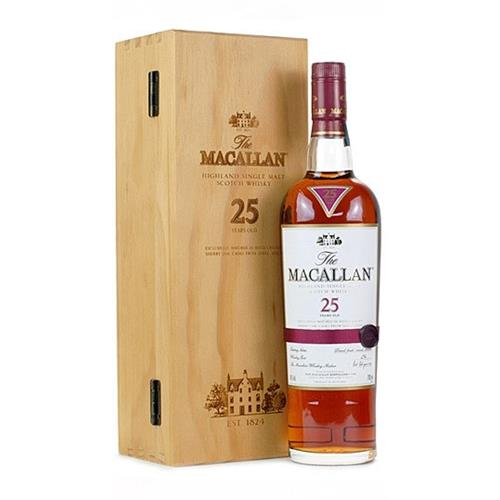 The Macallan 25 years old 43% 70cl Image 1