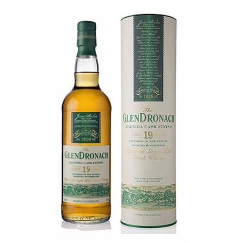 Glendronach 19 years old Madeira Finish 46% 70cl Image 1