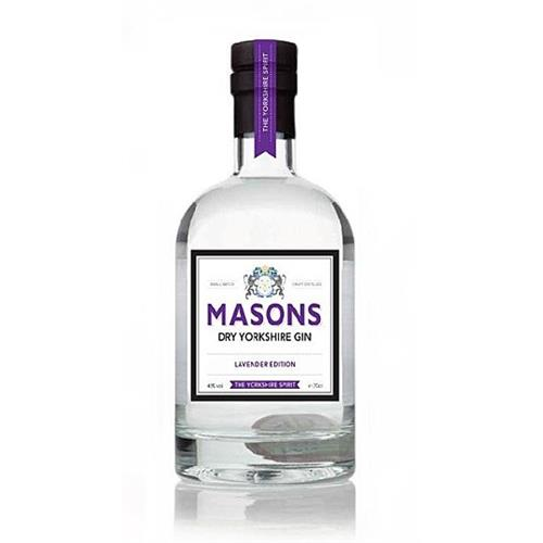 Masons Dry Yorkshire Gin Lavender Edition 42% 70cl Image 1