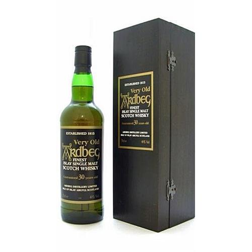 Ardbeg 30 years old Wooden Box 40% 70cl Image 1