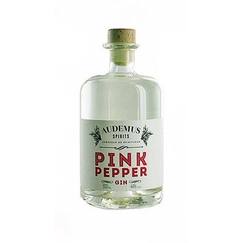 Pink Pepper Gin Audemus Spirits 44% 70cl Image 1