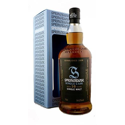 Springbank 16 years old Single Cask Fresh Sherry 54.2% 70cl Image 1