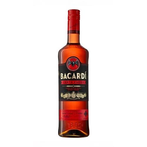 Bacardi Carta Fuego Red Spiced Rum 40% 70cl Image 1