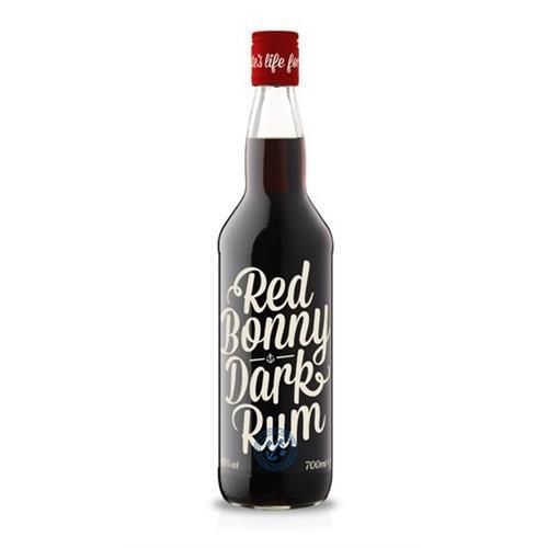 Red Bonny Dark Rum 40% 70cl Image 1