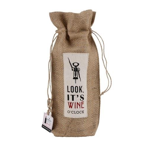 Cheeky Little Wine Bag It's Wine O'Clock Image 1