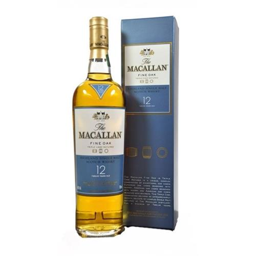 The Macallan Fine oak 12 years old 40% 70cl Image 1