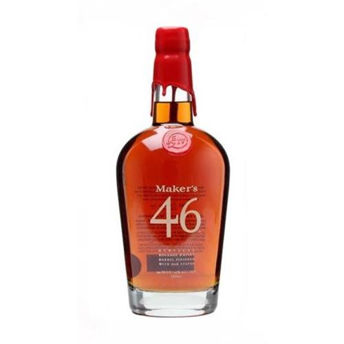 Makers Mark 46 Bourbon 47% 70cl Image 1