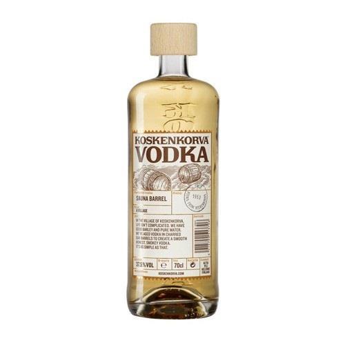 Koskenkorva Sauna Barrel Vodka 37.5% 70cl Image 1