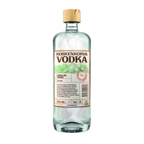 Koskenkorva Lemon Lime Yarrow Vodka 37.5% 70cl Image 1