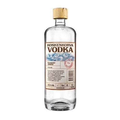 Koskenkorva Blueberry Juniper Vodka 37.5% 70cl Image 1
