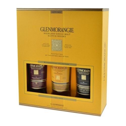 Glenmorangie The Pioneering Collection Gift Pack 40% 3 x 35cl Image 1