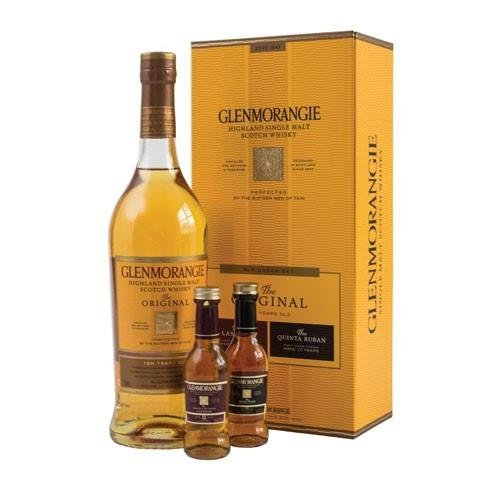Glenmorangie The Pioneer Gift Set With 40% 2 x 5cl Miniatures Image 1