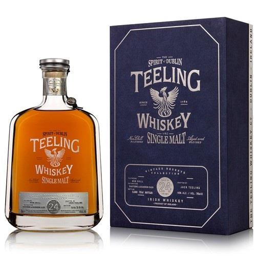 Teeling 24 Year Old Single Malt Irish Whiskey 46% Bottled 2017 70cl Image 1