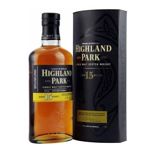Highland Park 15 Year Old Single Malt 40% 70cl Image 1