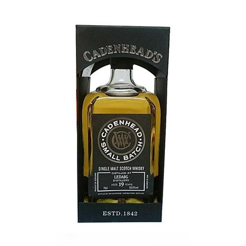 Ledaig 19 years old Cadenheads Small Batch 53.5% 70cl Image 1