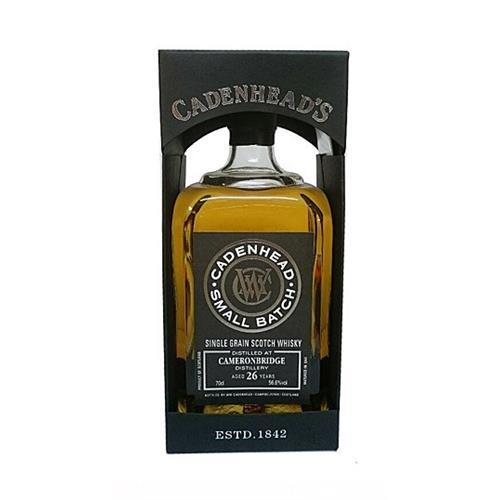 Cameronbridge 26 years old Cadenhead Small Batch 56.6% 70cl Image 1