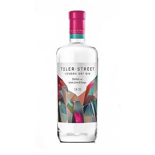 Tyler Street London Dry Gin 40% 70cl Image 1