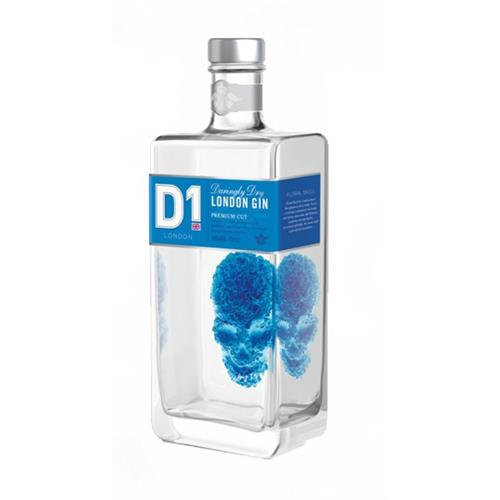 D1 Daringly Dry London Gin 70cl Image 1