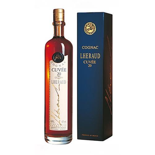 Cognac Lheraud Cuvee 20 43% vol 70cl Image 1