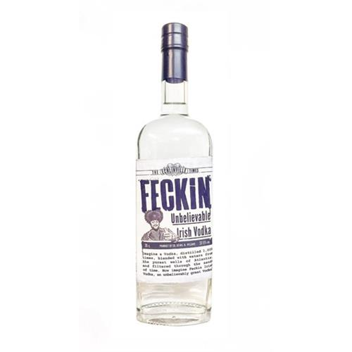 Feckin Unbelievable Irish Vodka 70cl Image 1