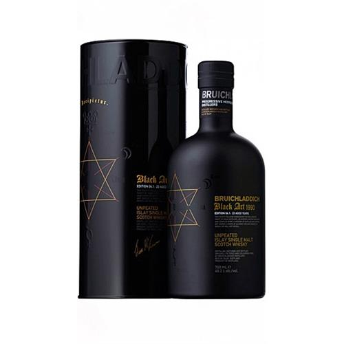 Bruichladdich Black Art Edition 05.1992 24 years old 70cl Image 1
