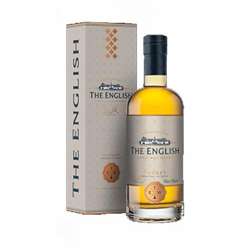 The English Single Malt Smokey 43% 70cl Image 1