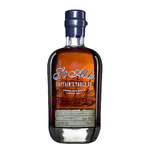 St Abbs Captains Table XO Rum 40% 70cl Image 1